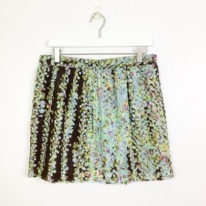 Tommy Hilfiger Watercolor Print Skirt Size 10 New